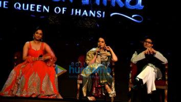 Kangana Ranaut graces the launch of the music from her film Manikarnika