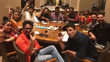 Kapil Sharma and Ginni Chatrath celebrate Lohri with The Kapil Sharma Show team