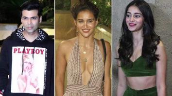 Karan Johar, Aisha Sharma, Janhvi Kapoor and others at Punit Malhotra's Birthday Bash