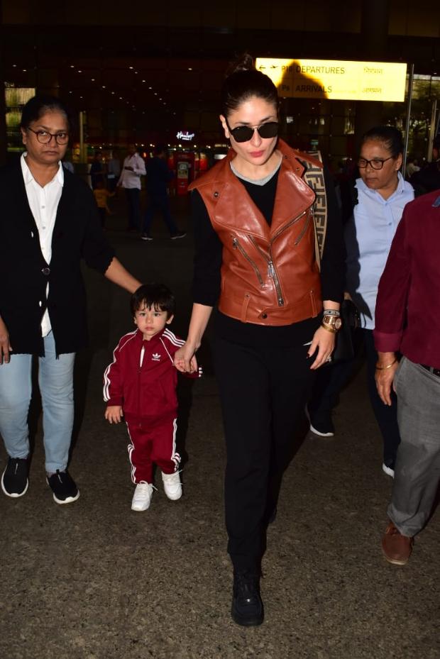 Slay Or Nay: Kareena Kapoor Khan In An Inr 1 Lakh Chanel Running Shoes And Carrying A Fendi Handbag