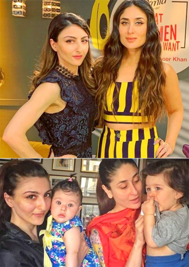 Kareena Kapoor Khan And Soha Ali Khan Get Scolded By Their Husbands With Regards To Taimur And Inaaya, Here's Why!