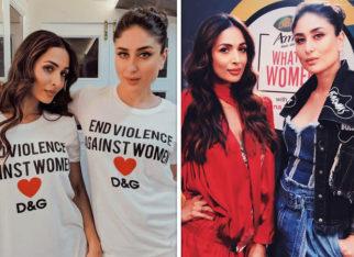 Kareena Kapoor Khan wears matching tees with BFF Malaika Arora during her radio show shoot