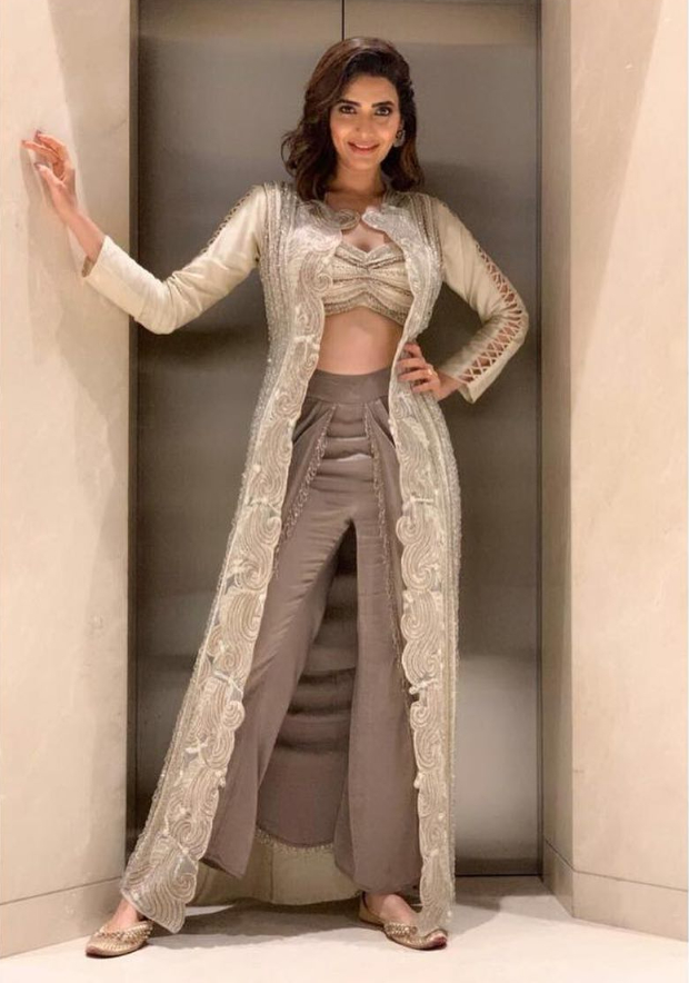 Slay Or Nay: Karishma Tanna In An Inr 65,000/- Ridhima Bhasin Ensemble For An Event In Surat