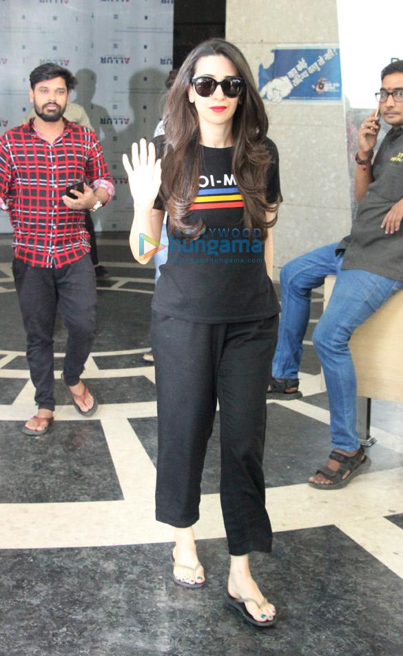 Karisma Kapoor snapped at a clinic