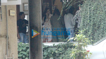 Kriti Sanon and Kartik Aaryan spotted at Maddock Films' office