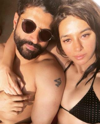 Lovebirds Farhan Akhtar and Shibani Dandekar soak in the sun on his birthday