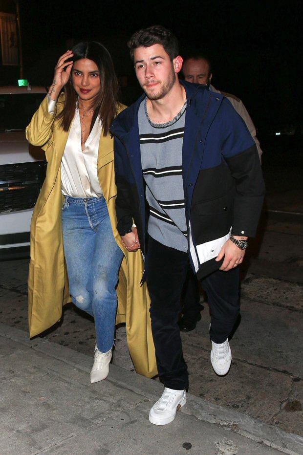 Lovebirds Priyanka Chopra And Nick Jonas Enjoy Date Night In Los Angeles