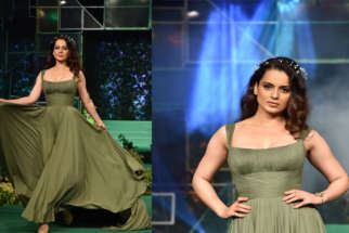 Manikarnika Star Kangana Ranaut walk The RAMP as Showstopper at the launch of India's first ever Eco-Friendly Fibre Part 2