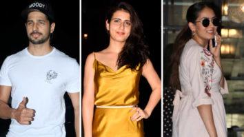 Mira Kapoor, Fatima Sana Shaikh, Sidharth Malhotra and others SPOTTED at Soho House