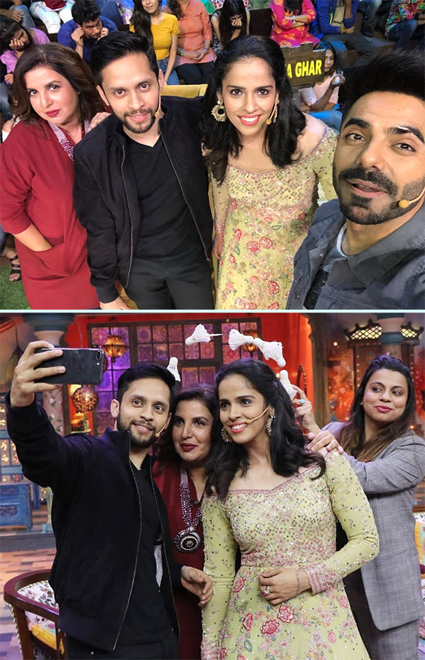 Newlyweds Saina Nehwal And Parupalli Kashyap Meet The Kanpur Wale Khuranas And Farah Khan And It Was Definitely A Fun-filled Ride!