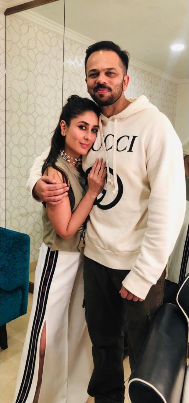 Photo Alert! Kareena Kapoor Kapoor Reunites With Golmaal 3 Director Rohit Shetty