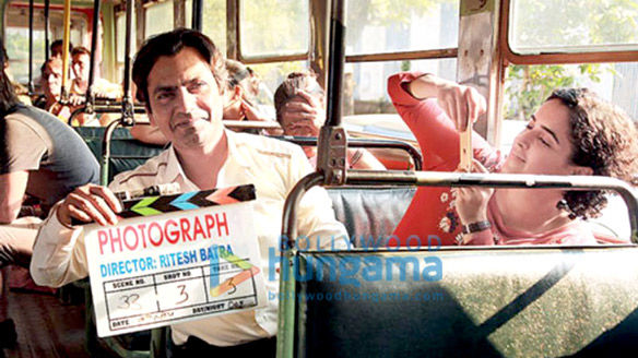 On The Sets Of The Movie Photograph