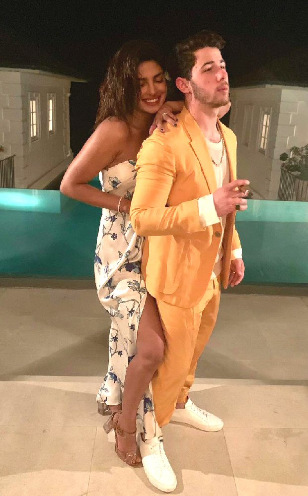Priyanka Chopra and Nick Jonas enjoy their romantic getaway in the Carribean
