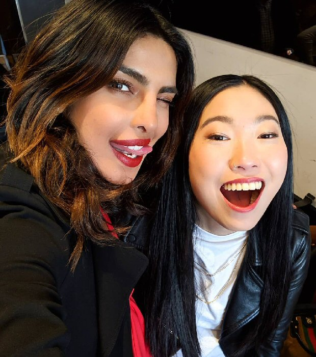 Priyanka Chopra Gets Crazy Rich Asians Star And Rapper Awkwafina For Her Youtube Show If I Could Tell You Just One Thing