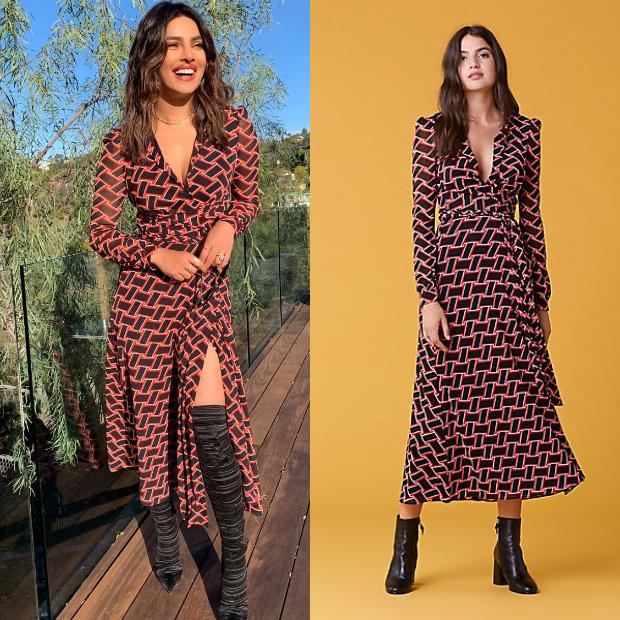 Slay Or Nay Priyanka Chopra In An Int 35 400 Dvf Dress