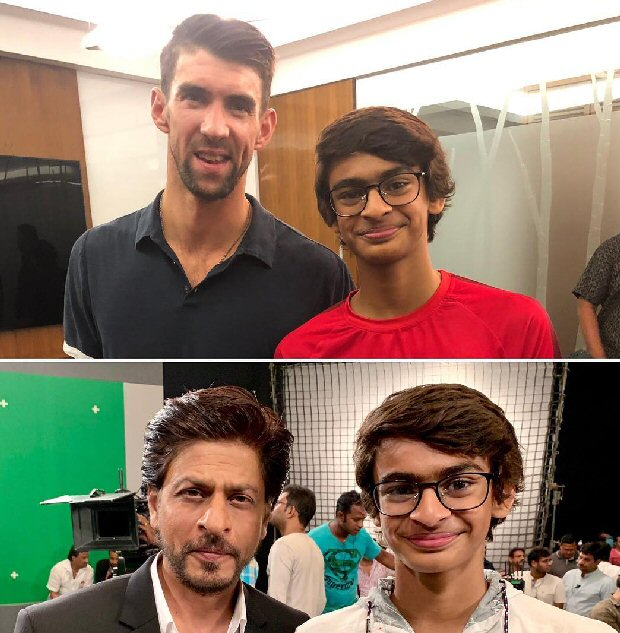 R Madhavan is THRILLED about his son meeting his idols – Shah Rukh Khan and Olympic swimmer Michael Phelps