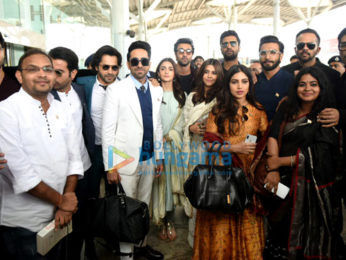 Ranbir Kapoor, Alia Bhatt, Ranveer Singh, Varun Dhawan and others snapped in Delhi to meet PM Narendra Modi