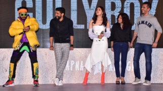 Ranveer Singh, Alia Bhatt and others grace the trailer launch of Gully Boy Part 1