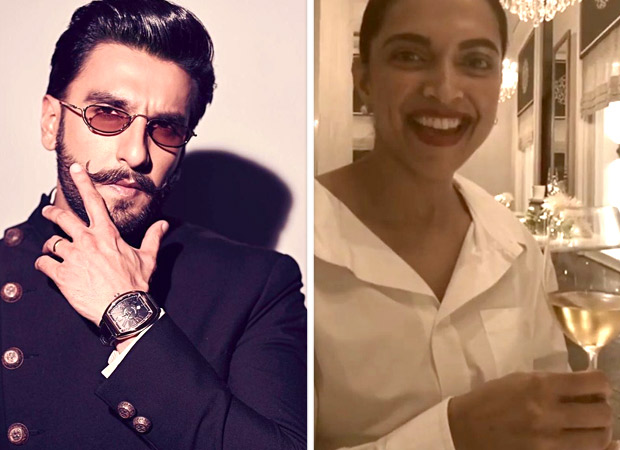 Ranveer Singh finds his biggest 'cheerleader' in wife Deepika Padukone (watch video)