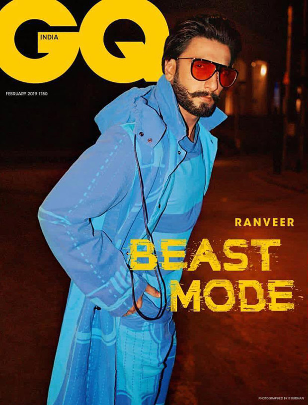 Ranveer Singh unleashes his BEAST MOOD for GQ, turns us into hapless victims!