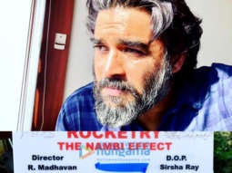 On The Sets Of The Movie Rocketry – The Nambi Effect