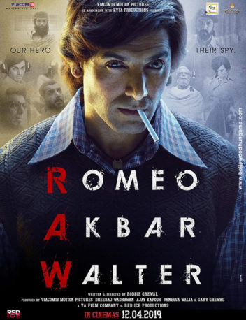 First Look Of The Movie Romeo Akbar Walter