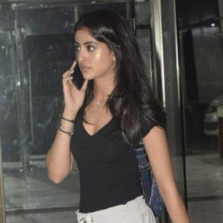 SPOTTED Amitabh Bachchan's Grand-Daughter Navya Naveli Nanda @Sanjay Kapoor's House