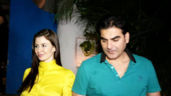 SPOTTED Arbaaz Khan with Girlfriend Giogia Andriani at Olive, Khar