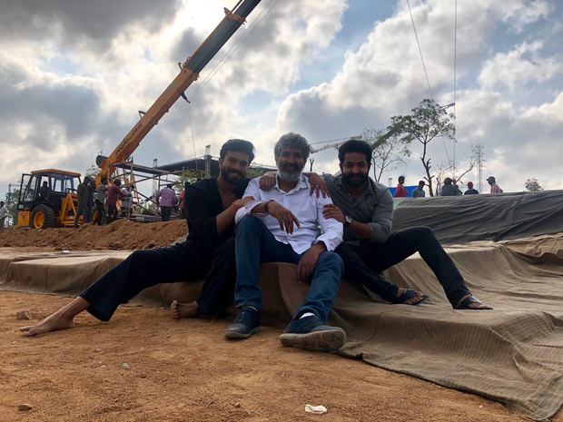 Ss Rajamouli's Rrr Starring Ram Charan And Junior Ntr Begins Its Second Schedule