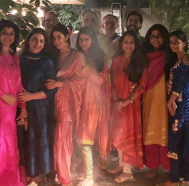 Sara Ali Khan Keeps It Traditional During Lohri Celebration With Mom Amrita Singh