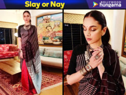 Slay or Nay - Aditi Rao Hydari in Payal Khandwala for Urja Awards 2019 (Featured)