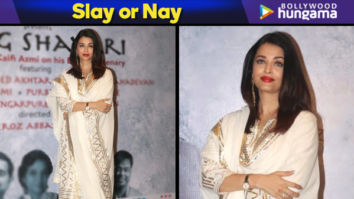 Slay or Nay - Aishwarya Rai Bachchan in Sukriti and Aakriti for Raag Shayari premiere (Featured)