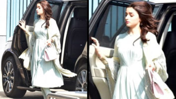 Slay or Nay - Alia Bhatt in Manish Malhotra for meeting PM Narendra Modi in Delhi (Featured)