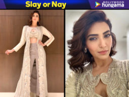 Slay or Nay - Karishma Tanna in Ridhima Bhasin for an event in Surat (Featured)
