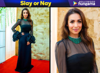 Slay or Nay - Malaika Arora in Antonio Riva for an event in Hyderabad (Featured)