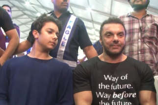 Sohail Khan and Nirvaan Khan attends Finale of Fun Fitness Challenge