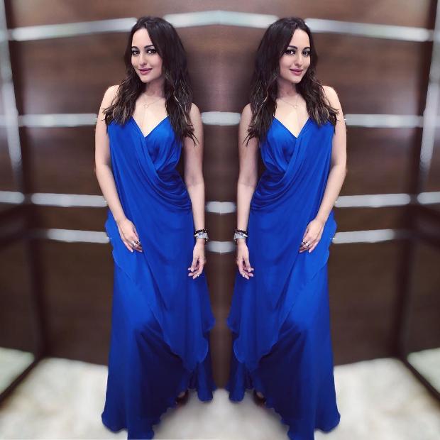 Slay Or Nay: Sonakshi Sinha In An Inr 15,000/- Deme By Gabriella Dress For Sidharth Malhotra's Birthday Bash