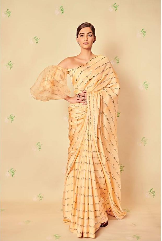Slay Or Nay: Sonam Kapoor Ahuja In Masaba Gupta For Ek Ladki Ko Dekha To Aisa Laga Promotions