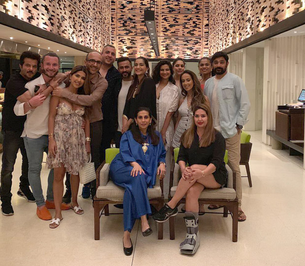 Sonam Kapoor, Anand Ahuja, Anil Kapoor and family ring in New Year in Bali