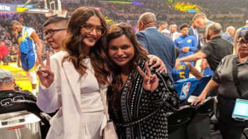 Sonam Kapoor meets Mindy Kaling, cousin Arjun Kapoor can't keep calm