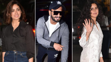 Special Screening of URI with Many Celebs Ranveer Singh Katrina Kaif Varun