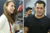 Superstar Salman Khan, Arbaaz Khan and Iulia Vântur at Fitness Challenge held by Being Human