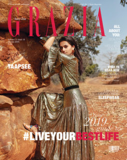 Taapsee Pannu On The Cover Of Grazia, January 2019
