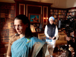 On The Sets Of The Movie The Accidental Prime Minister