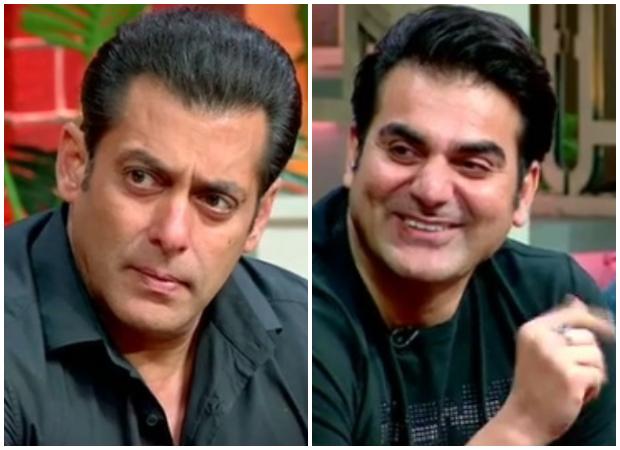 The Kapil Sharma Show: Arbaaz Khan Hilariously Mocks Salman Khan On Why He Doesn't Kiss On Screen