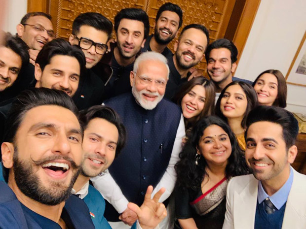 """The PM meets Bollywood delegation """"This is just the beginning,"""" says producer Mahaveer Jain"""