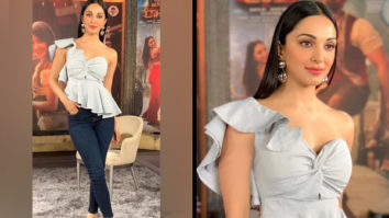 Thrifty Chic - Kiara Advani in Arabellaa for Vinaya Vidheya Rama promotions (Featured)