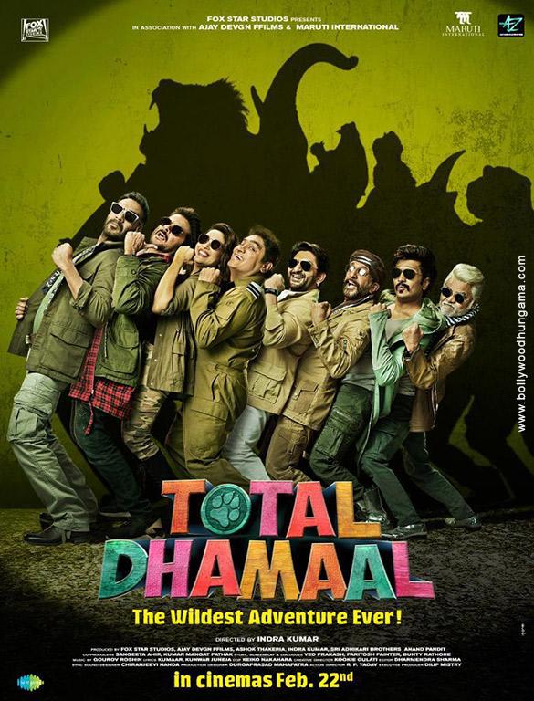 TOTAL DHAMAAL (2019) con ANIL KAPOOR + Sub. Español Total-Dhamaal-01