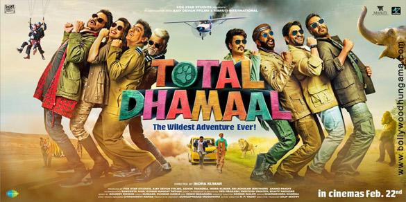 TOTAL DHAMAAL (2019) con ANIL KAPOOR + Sub. Español Total-Dhamaal-4