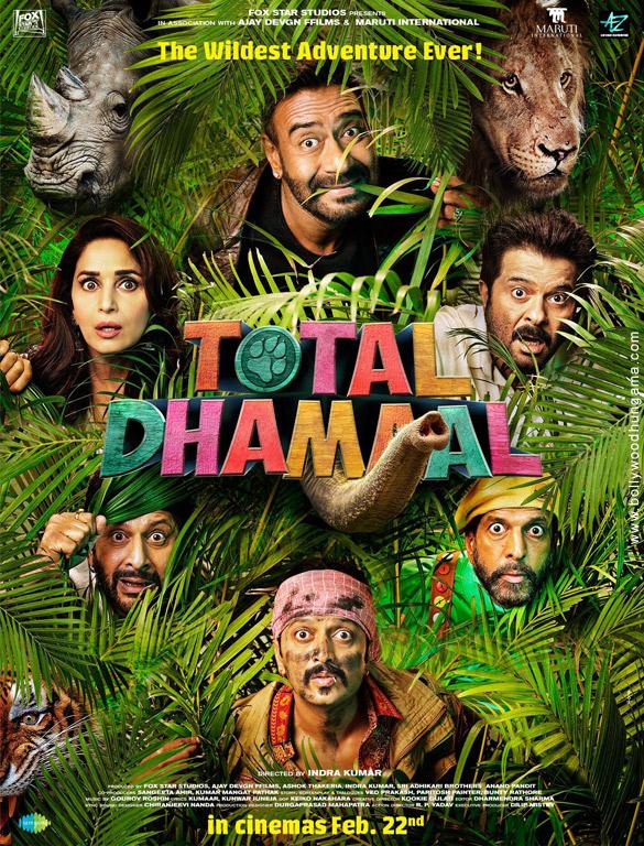 TOTAL DHAMAAL (2019) con ANIL KAPOOR + Sub. Español Total-Dhamaal-5